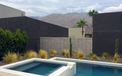 Water Features Enhance An Outdoor Space